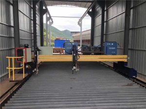 যথার্থ সিএনসি প্লাজমা কাটিয়া মেশিন সার্ভো মোটর সহ নির্ভুল 13000 মিমি